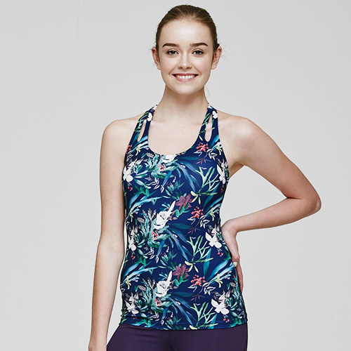MT 0685 Tropical-forest-navy